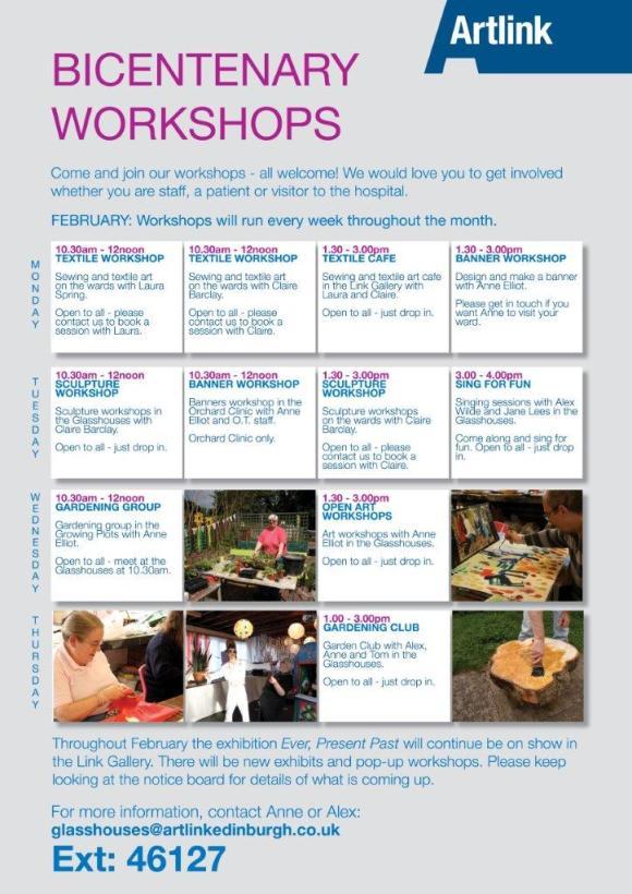 Bicentenary workshops_Feb