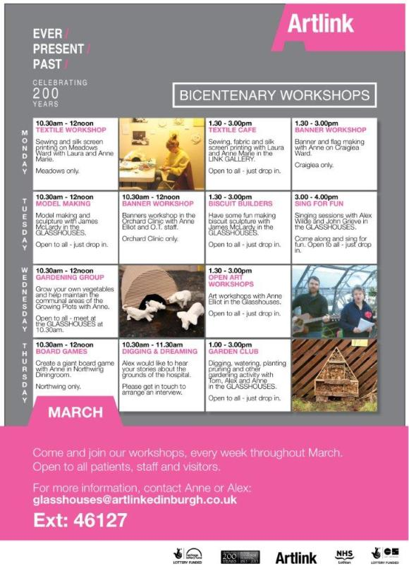FINAL PINK  A4 WORKSHOPS POSTER_March