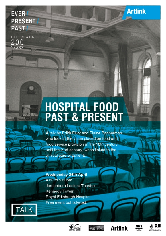 Hospiutal Food Past & Present Flyer