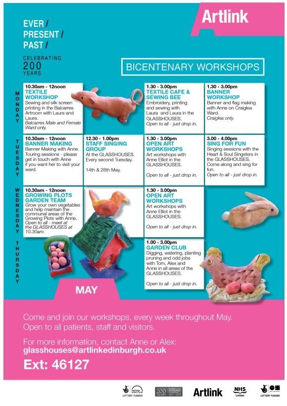 may workshop programme poster