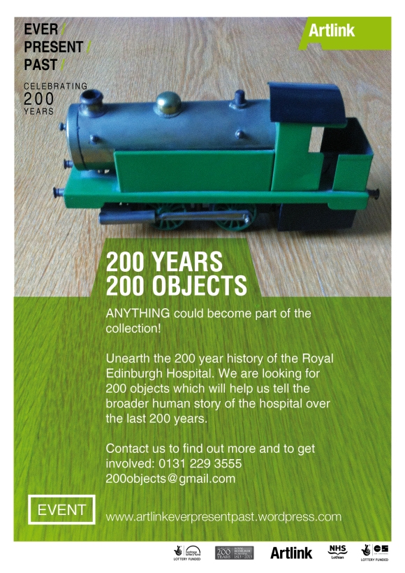 200 years 200 objects flyer