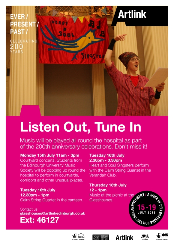 Listen Out, Tune In Evetn Poster