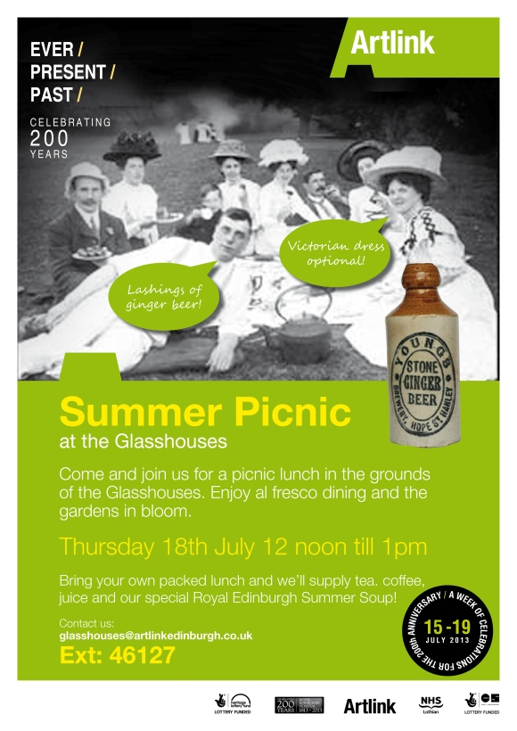 Summer Picnic Event Poster