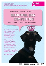 Dog Competition Poster