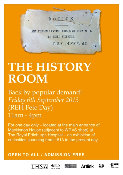 History Room Poster